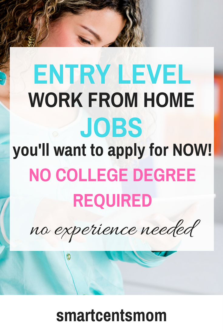 Work from Home Jobs with No College Degree Required