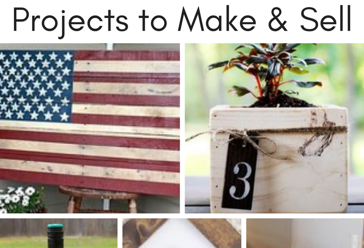 Looking for easy wood pallet projects to make and sell? These pallet projects are easy DIY ideas that you can make for cheap. You can sell these on Etsy or at local flea markets.