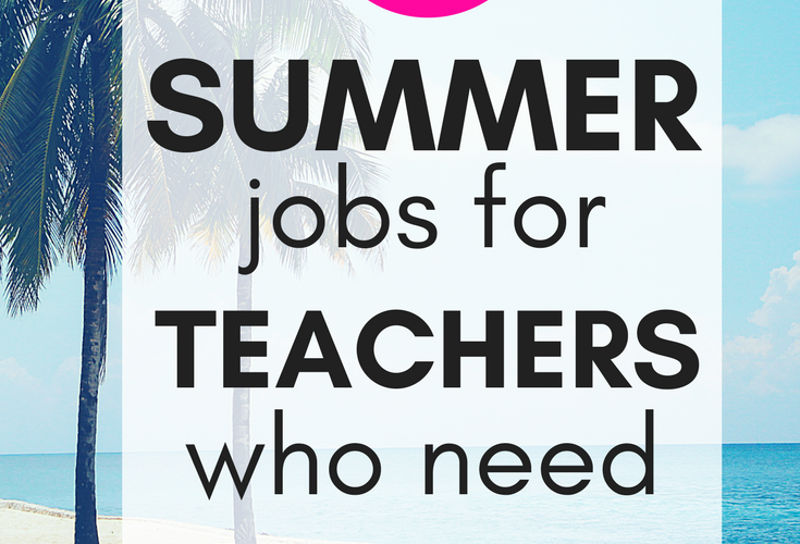 Extra income ideas for teachers are a great way to start making money from home during the summer. This list of side hustle ideas are perfect for any teacher who needs to make extra income. Make money with passive income ideas for teachers, selling things online, online tutoring, and more side hustles for teachers!