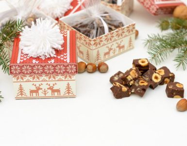fudge is a good holiday treat to sell