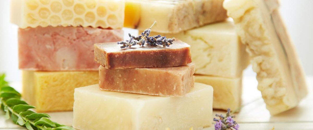 handmade soap is a smart choice to sell at farmers markets
